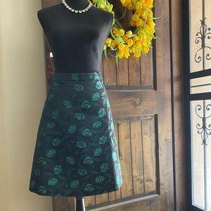 NWT JCrew Peacock Skirt
